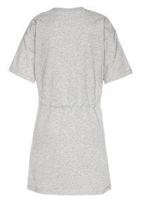 Calvin Klein Jeans - SMALL MONOGRAM DRESS - Trikoomekko - grey - 1