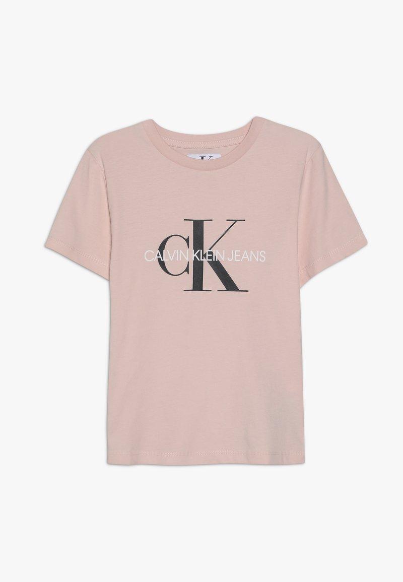 Calvin Klein Jeans - MONOGRAM  - T-shirts print - pink