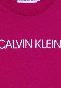 Calvin Klein Jeans - LOGO FOIL PRINT  - Longsleeve - pink - 4