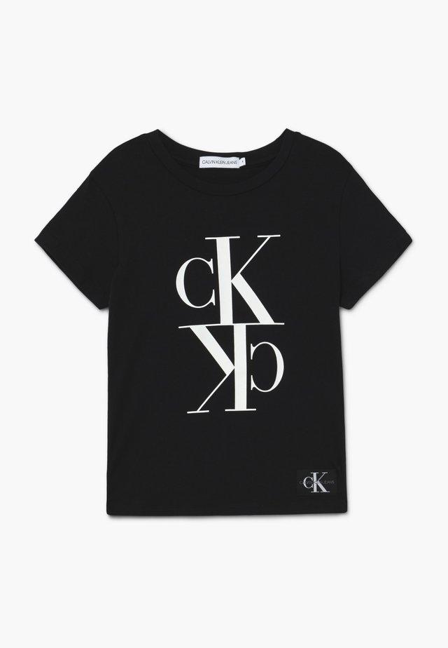MONOGRAM - T-shirts print - black