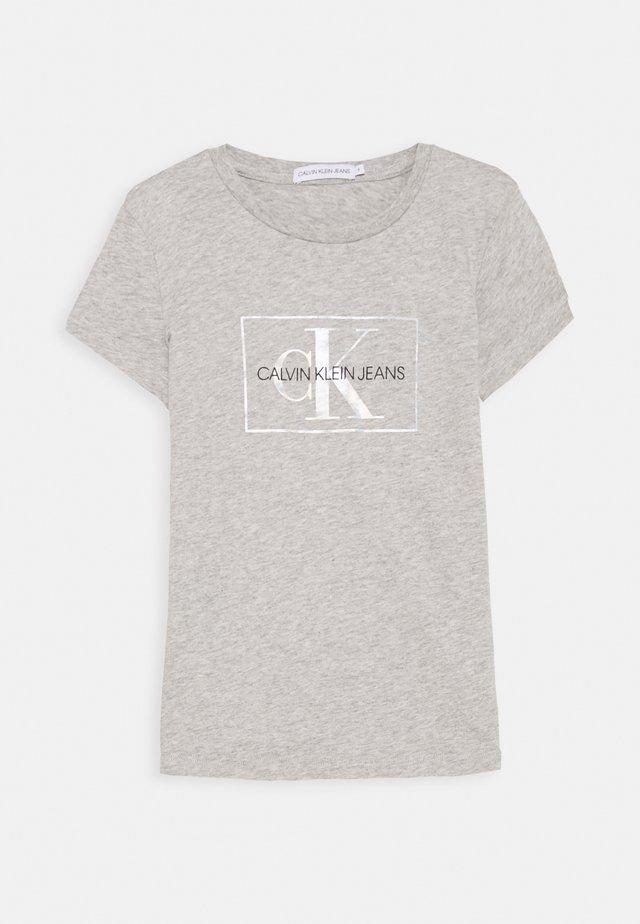 SMALL MONOGRAM - T-Shirt print - grey