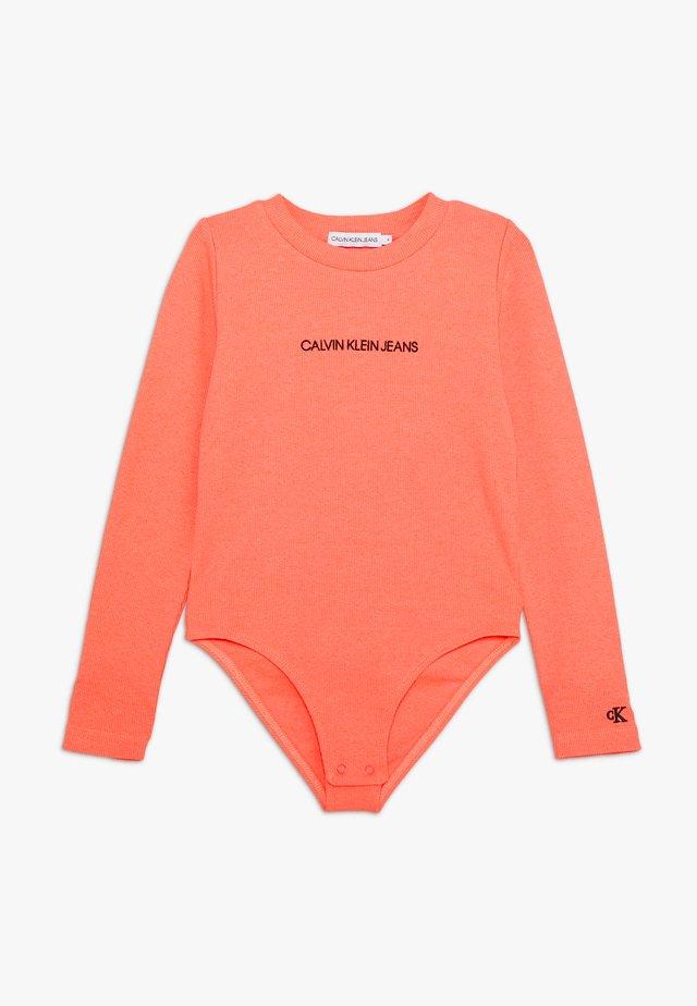 LOGO BODY - T-shirt à manches longues - pink