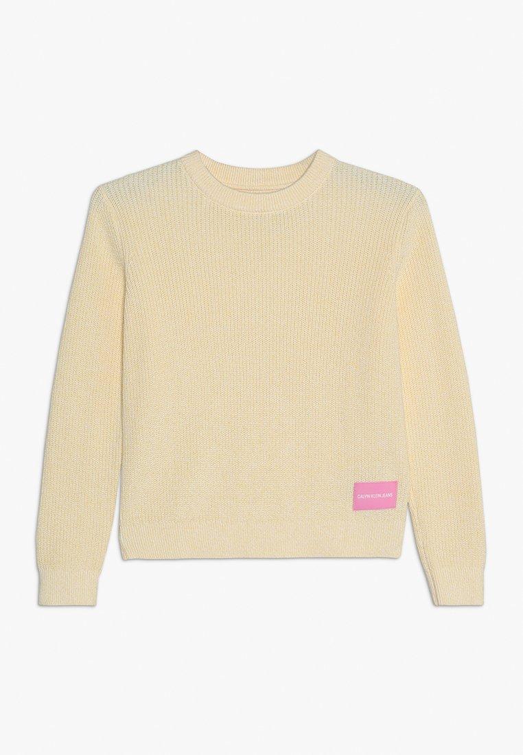 Calvin Klein Jeans - Pullover - yellow
