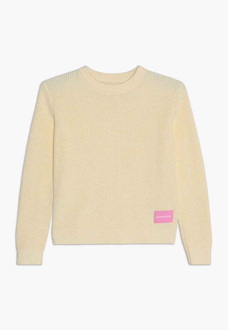 Calvin Klein Jeans - Pullover - yellow