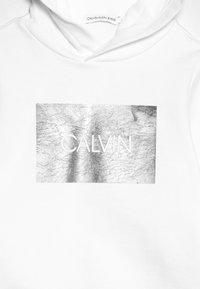 Calvin Klein Jeans - SILVER BOX HOODIE - Hoodie - white - 4