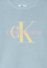 Calvin Klein Jeans - MONOGRAM - Strikkegenser - blue - 3