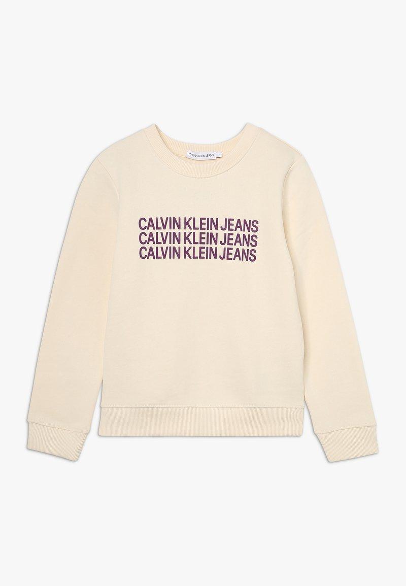 Calvin Klein Jeans - TRIPLE LOGO - Bluza - whitecap gray