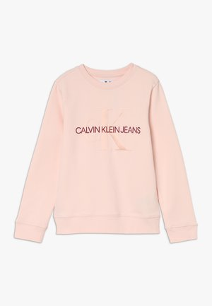 MONOGRAM CREW - Sweater - pink