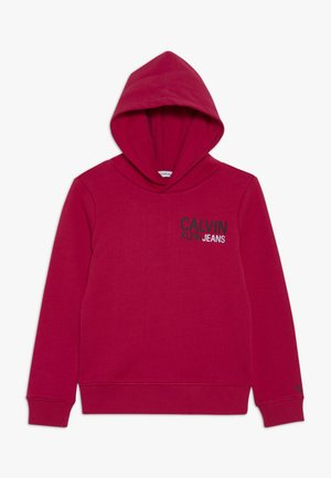 SMALL STAMP LOGO HOODIE - Sweat à capuche - pink