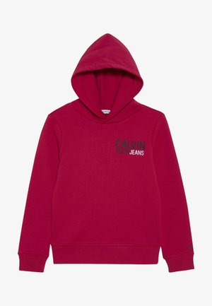 SMALL STAMP LOGO HOODIE - Jersey con capucha - pink