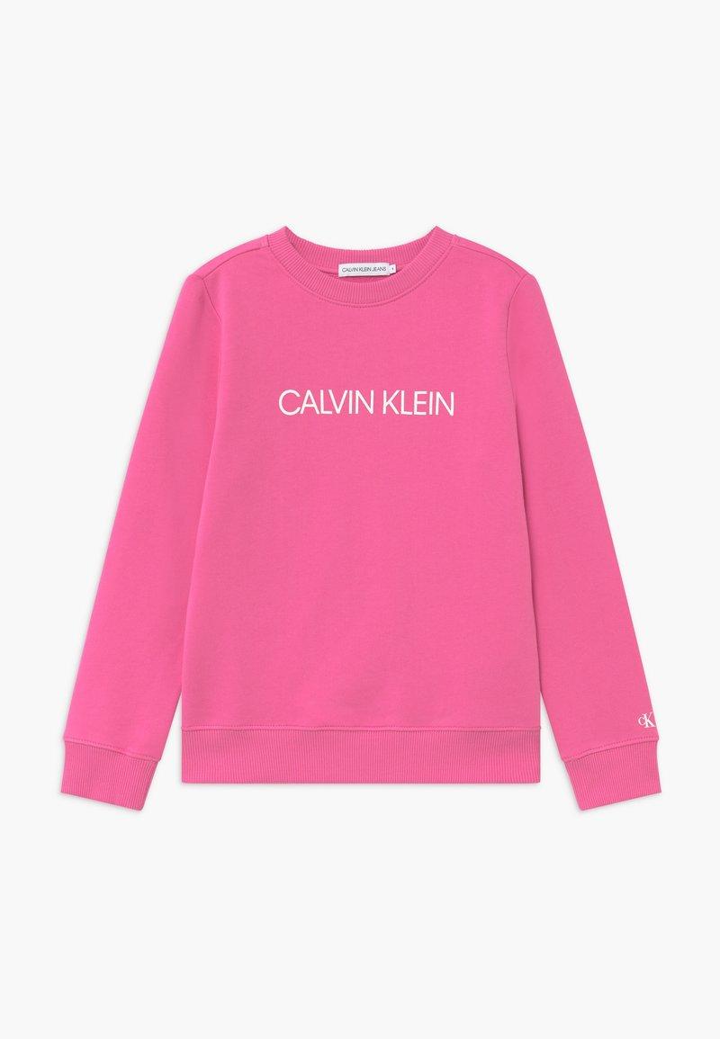 Calvin Klein Jeans - INSTITUTIONAL LOGO - Bluza - pink