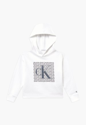IRIDESCENT LOGO HOODIE - Mikina s kapucí - white