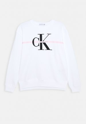 MONOGRAM STRIPE - Sweater - white