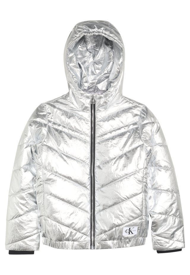 LIGHT HOOD BOMBER GIRLS - Winterjas - silver