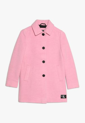 A-LINE SHORT COAT GIRLS - Classic coat - pink