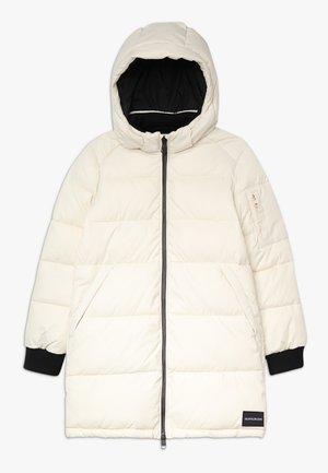 ESSENTIAL PUFFER LONG JACKET - Zimní kabát - grey