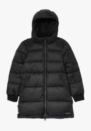 ESSENTIAL PUFFER LONG JACKET - Talvitakki - black