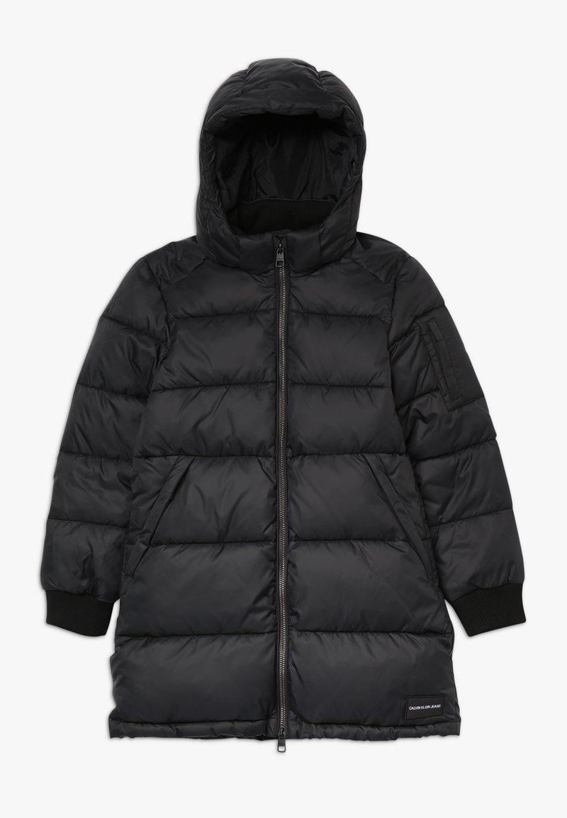 Calvin Klein Jeans - ESSENTIAL PUFFER LONG JACKET - Winterjas - black