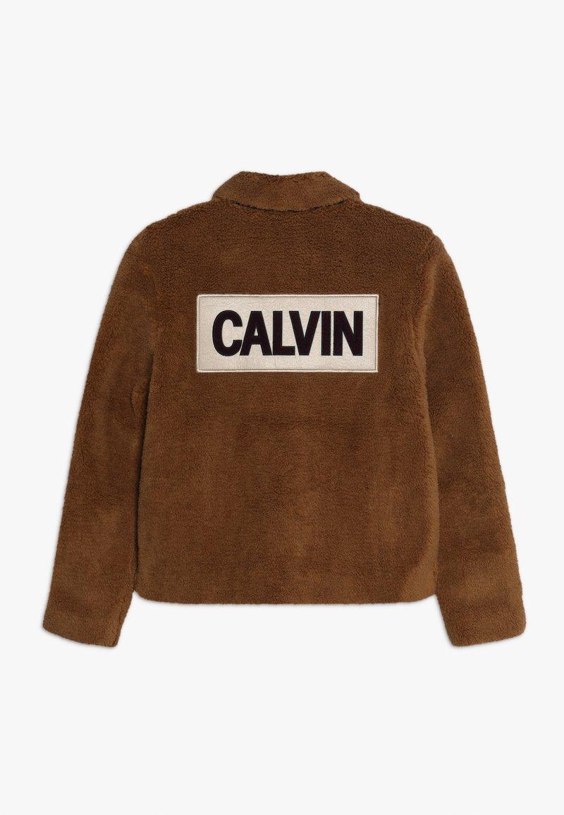Calvin Klein Jeans - JACKET - Winter jacket - brown