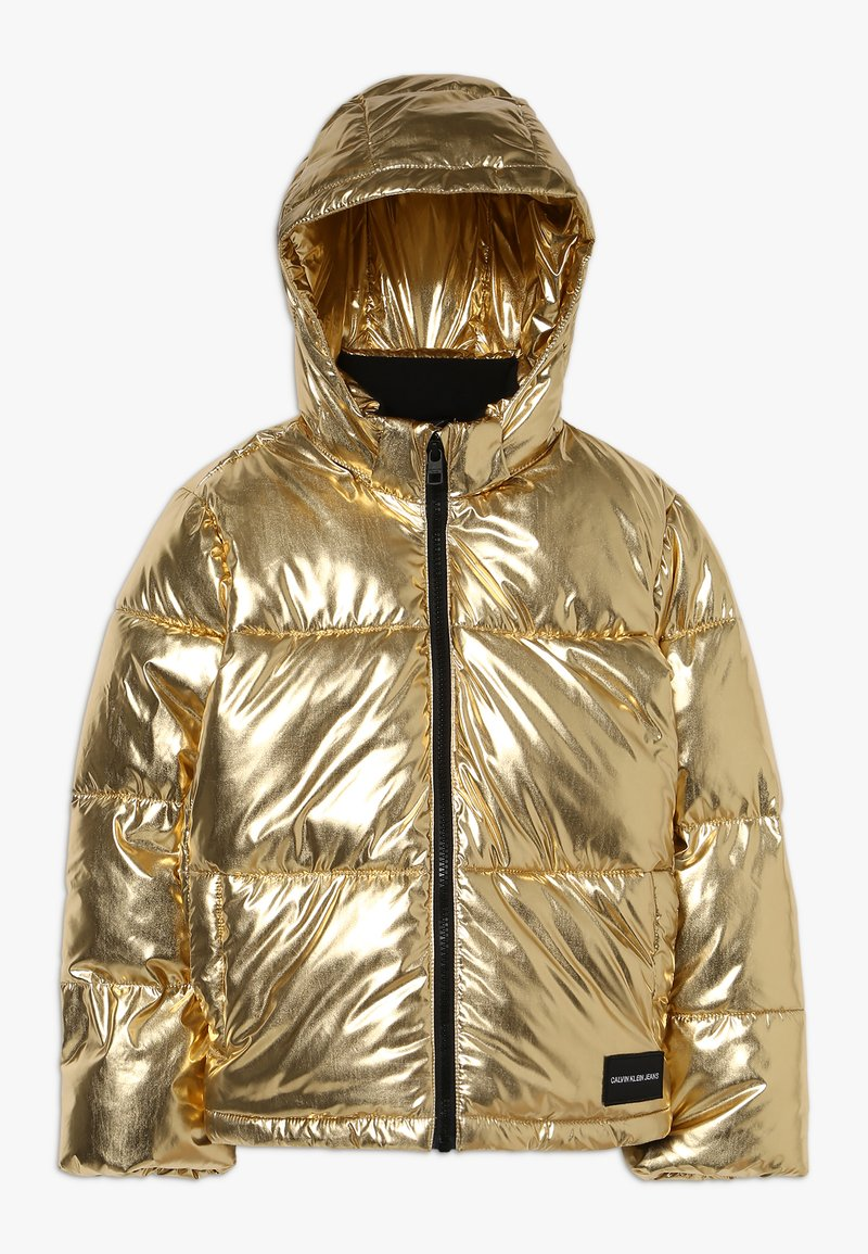 Calvin Klein Jeans - PUFFER JACKET - Zimní bunda - gold