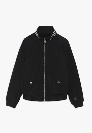 LOGO JACKET - Light jacket - black