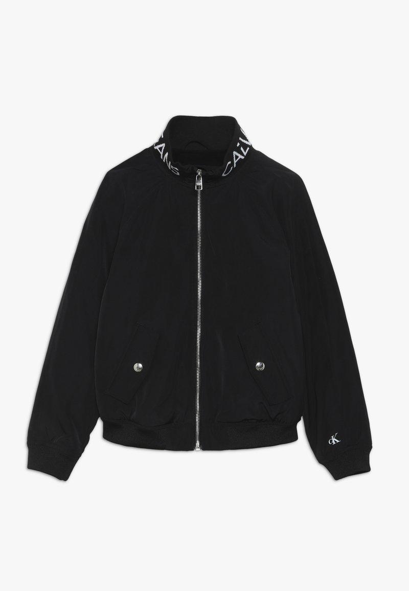 Calvin Klein Jeans - LOGO JACKET - Jas - black