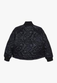 Calvin Klein Jeans - MONOGRAM JACKET - Bomberjacka - black - 1
