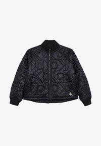 Calvin Klein Jeans - MONOGRAM JACKET - Bomberjacka - black - 2