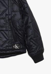 Calvin Klein Jeans - MONOGRAM JACKET - Bomberjacka - black - 3