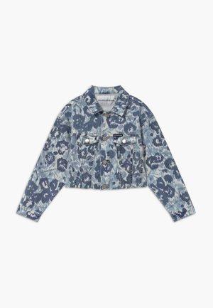 JACKET GIRLS FLOWER - Denim jacket - denim