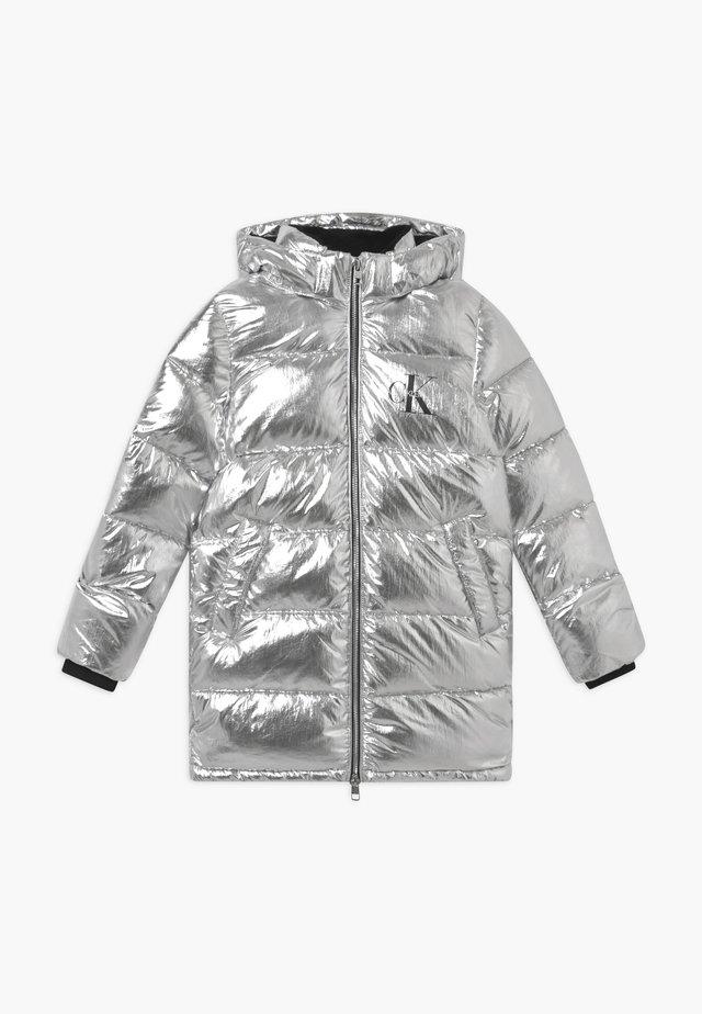 PUFFER LONG - Winterjas - silver metallic