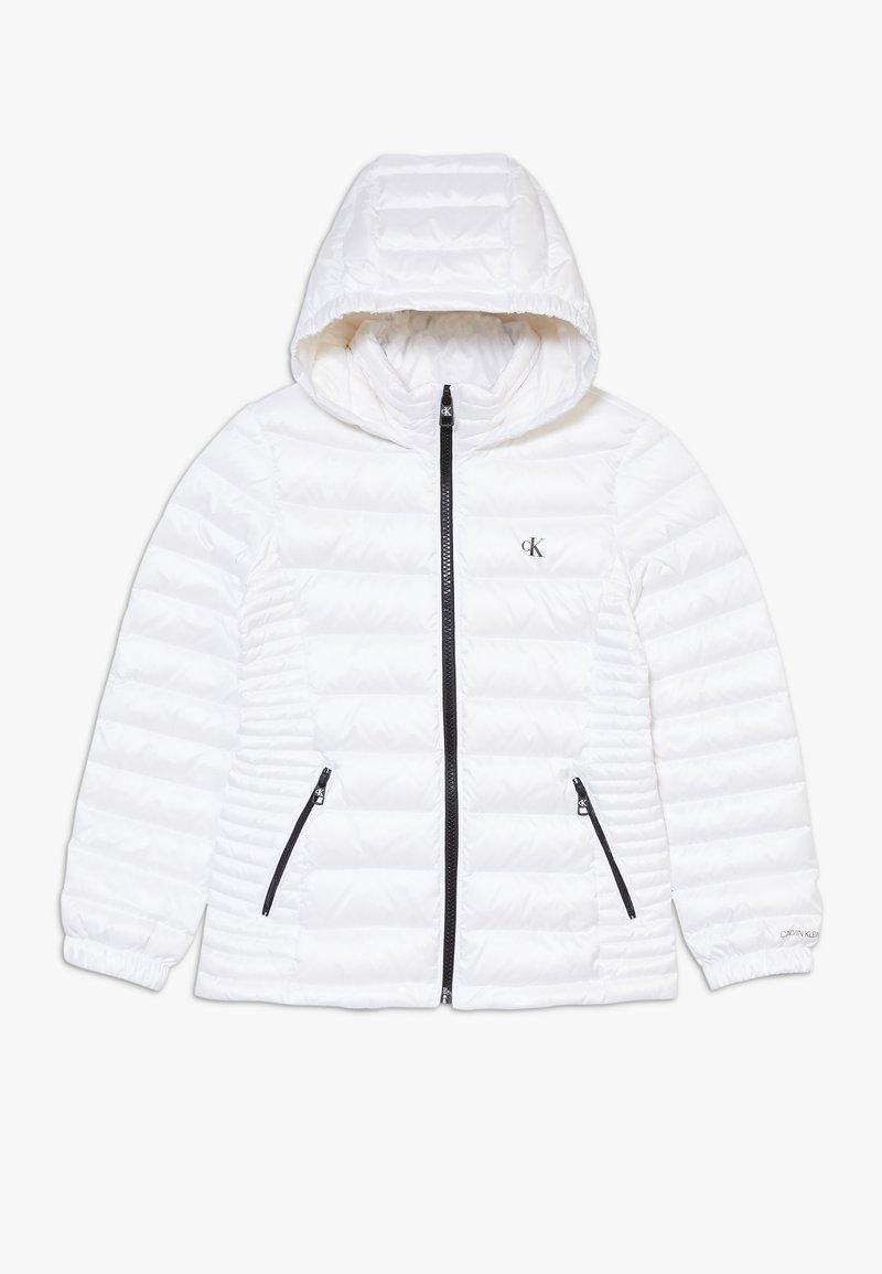 Calvin Klein Jeans - FITTED LIGHT JACKET - Piumino - white