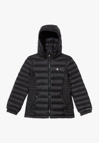 Calvin Klein Jeans - FITTED LIGHT JACKET - Piumino - black - 0
