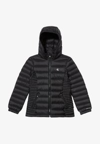 Calvin Klein Jeans - FITTED LIGHT JACKET - Piumino - black - 2
