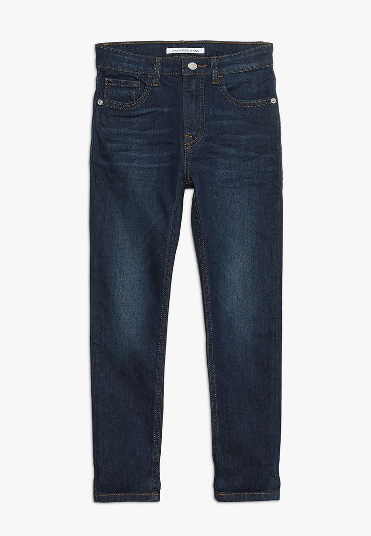 Calvin Klein Jeans - TAPERED VINE STRETCH - Slim fit jeans - blue