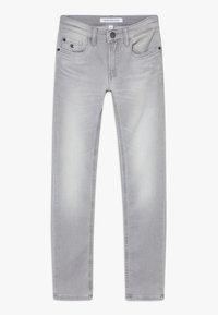 Calvin Klein Jeans - SKINNY ATH SOFT GREY STRETCH - Skinny-Farkut - grey - 0