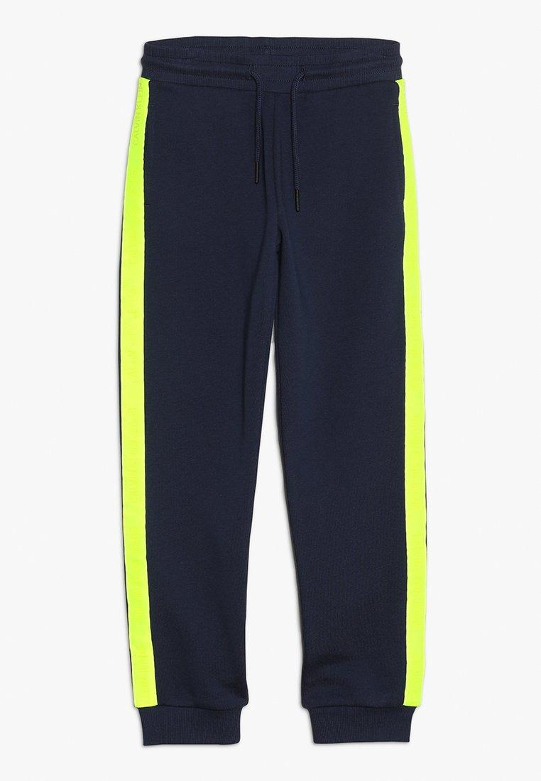 Calvin Klein Jeans - NEON TAPE  - Teplákové kalhoty - blue