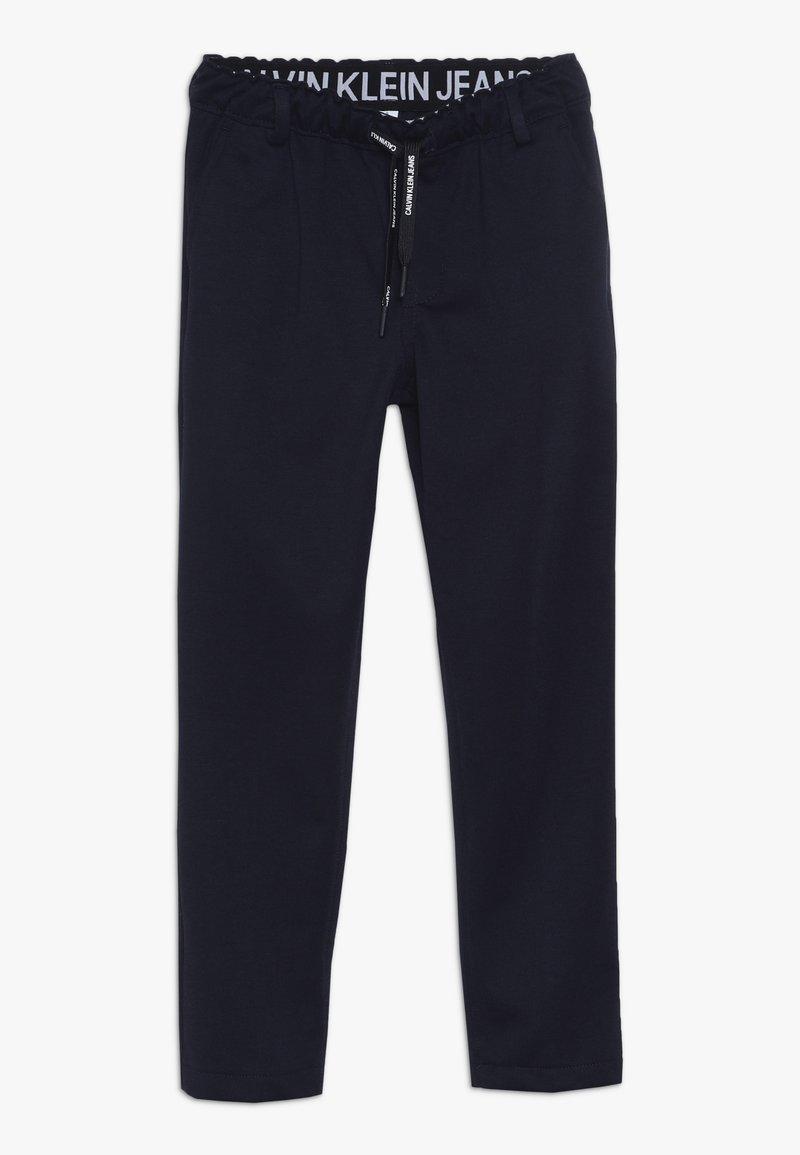 Calvin Klein Jeans - SMART PUNTO PANTS - Chinos - blue