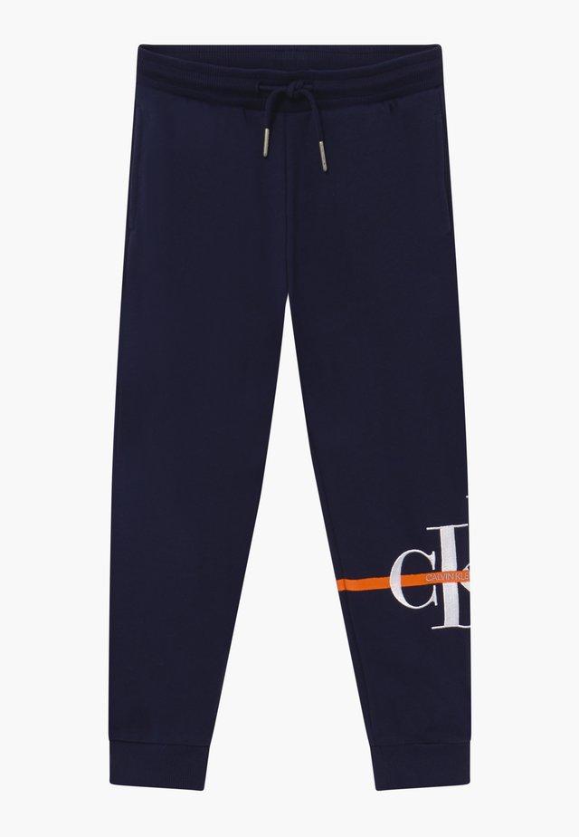 MONOGRAM STRIPE  - Pantalon de survêtement - blue