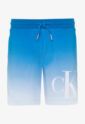GRADIENT MONOGRAM  - Shorts - blue