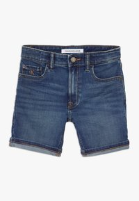 Calvin Klein Jeans - TAPERED SHORT  - Shorts vaqueros - denim - 0