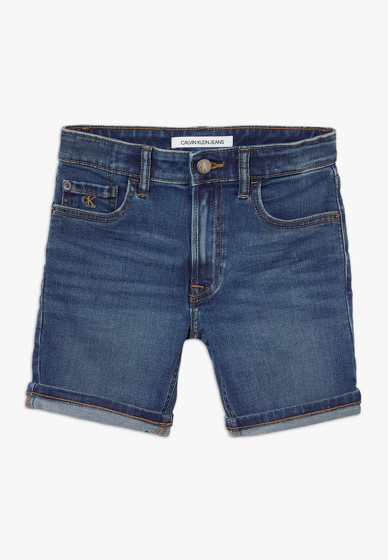 Calvin Klein Jeans - TAPERED SHORT  - Shorts vaqueros - denim