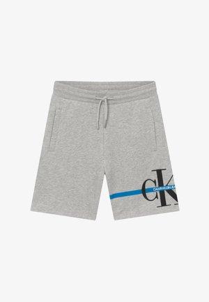 MONOGRAM STRIPE - Pantalon de survêtement - grey