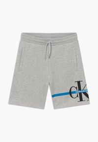 Calvin Klein Jeans - MONOGRAM STRIPE - Teplákové kalhoty - grey - 0