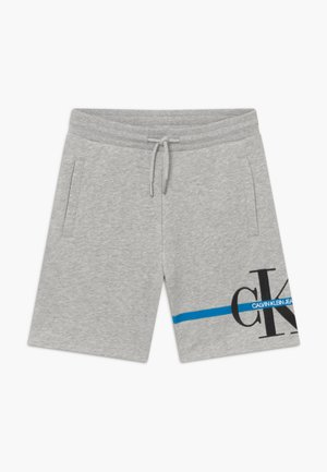 MONOGRAM STRIPE - Teplákové kalhoty - grey