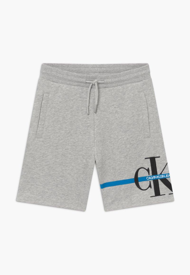 Calvin Klein Jeans - MONOGRAM STRIPE - Teplákové kalhoty - grey