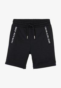 Calvin Klein Jeans - LOGO INTARSIA - Verryttelyhousut - black - 2