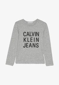 Calvin Klein Jeans - LOGO  - Long sleeved top - grey - 2