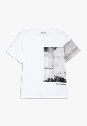 PHOTO PRINT  - T-shirt print - white