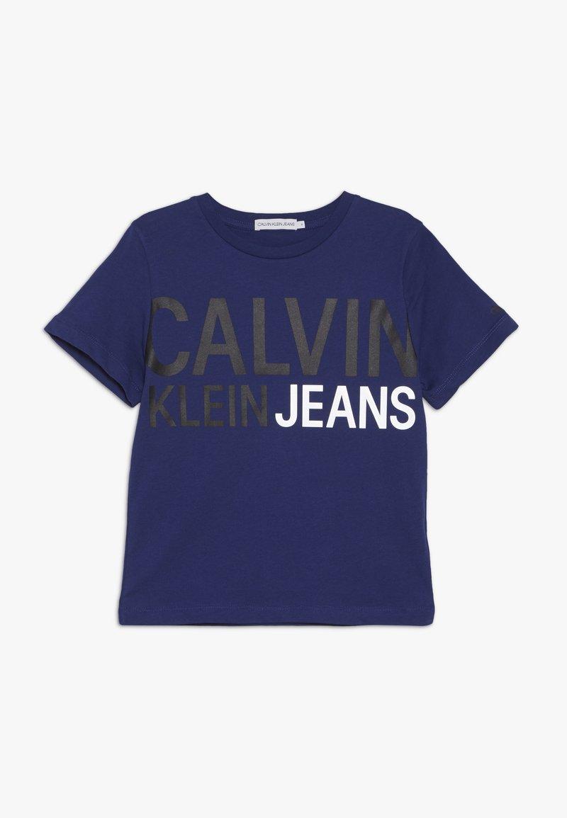 Calvin Klein Jeans - STAMP LOGO - Print T-shirt - blue
